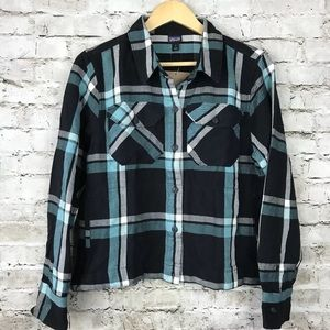 Patagonia iron ridge shirt jacket plaid